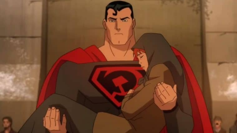 Filme animado de Superman: Entre a Foice e o Martelo ganha primeiro trailer