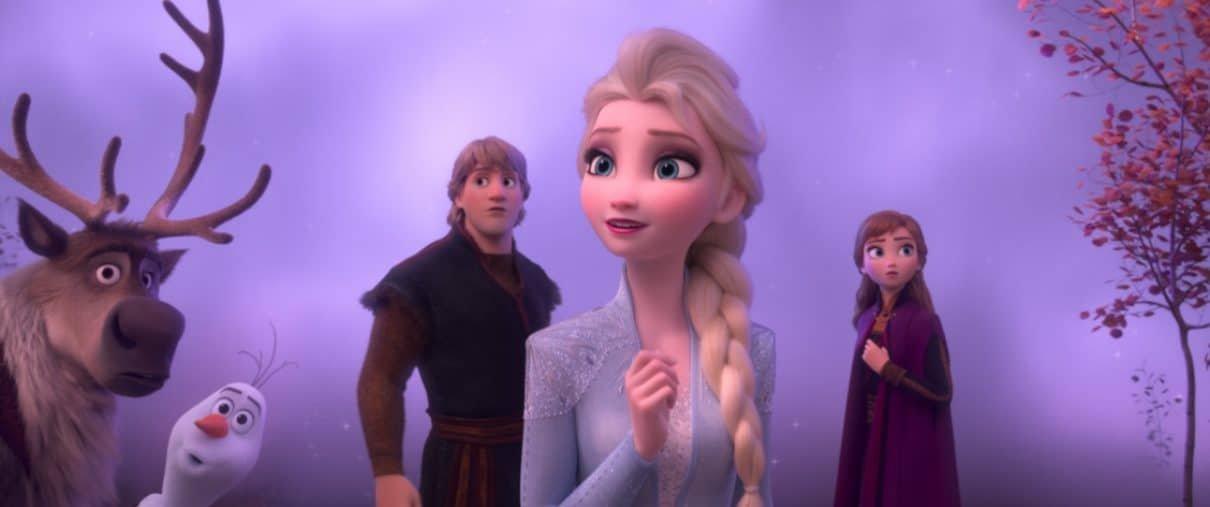 Frozen 2 bate recorde de bilheteria durante Ação de Graças e se mantém no topo