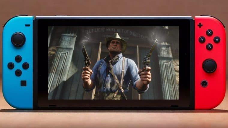 Imagem encontrada por fã sugere Red Dead Redemption 2 no Nintendo Switch
