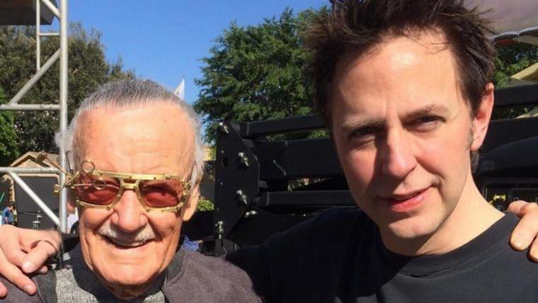 James Gunn faz homenagem a Stan Lee