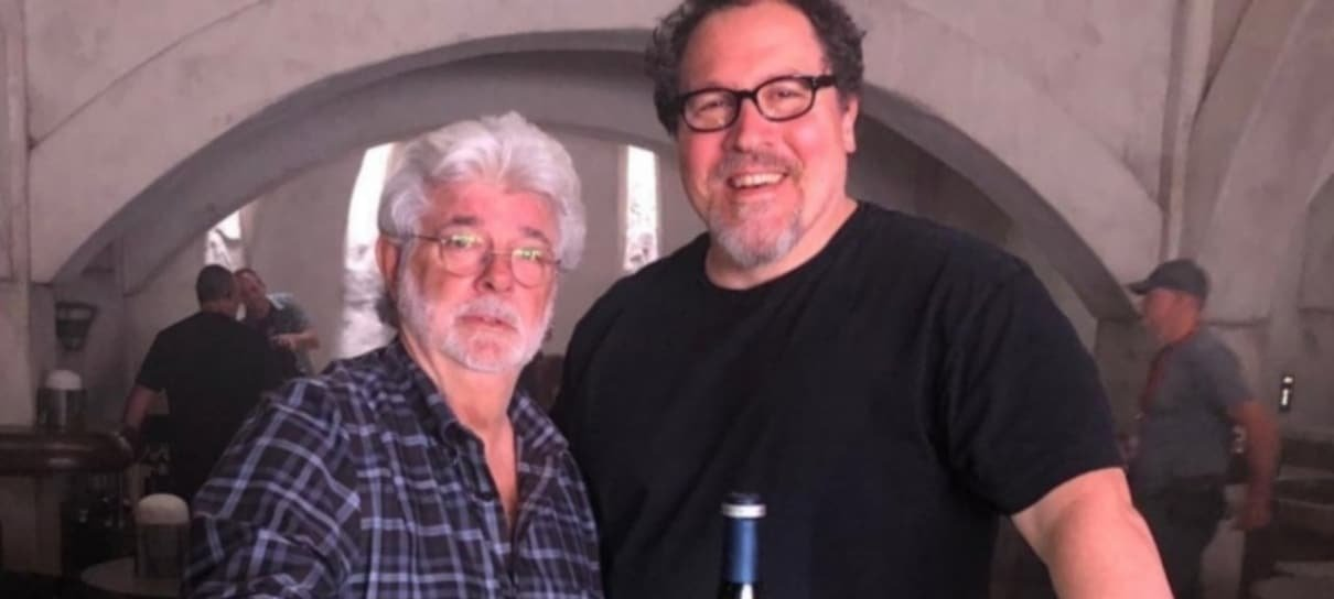 CEO da Disney compara Jon Favreau a George Lucas
