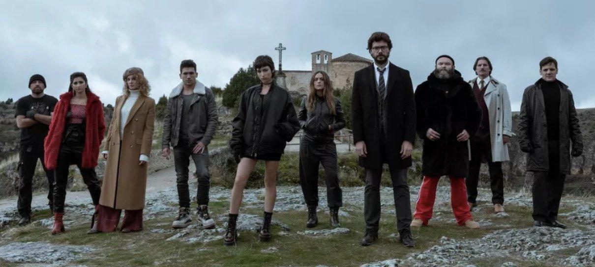 La Casa de Papel ganha cena inédita de nova temporada; leia a descrição