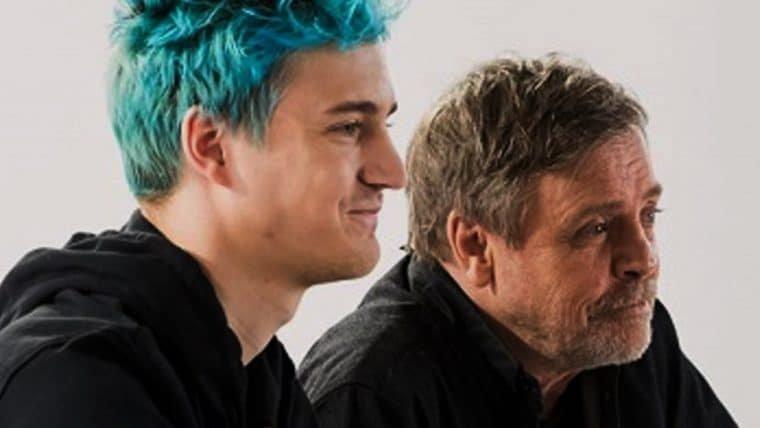 Ninja anuncia parceria com Mark Hamill para revelar novo conteúdo de Fortnite
