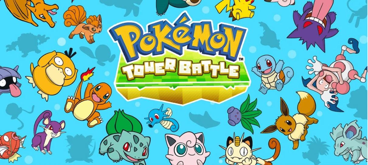 Dois novos jogos de Pokémon foram lançados no Facebook