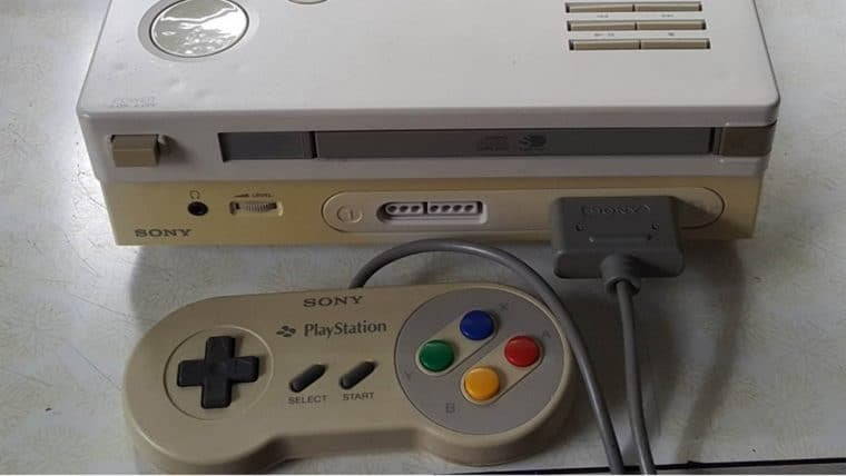 Protótipo original do Nintendo PlayStation será leiloado