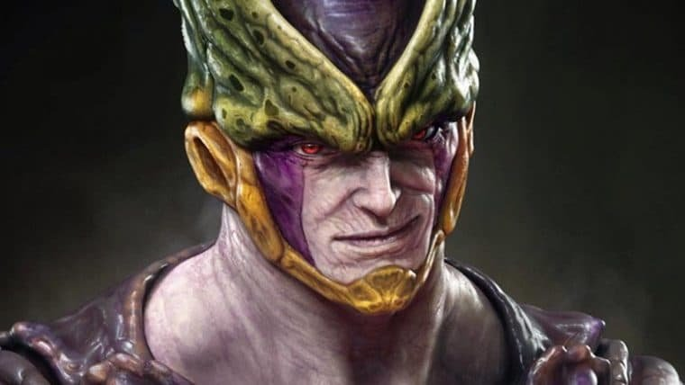 Rafael Grassetti cria arte realista do Cell, de Dragon Ball Z