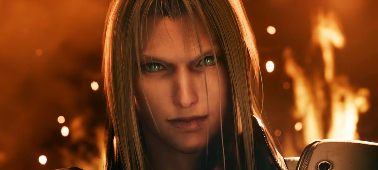 Remake de Final Fantasy VII ganha imagens incríveis mostrando Sephiroth, Shiva e mais