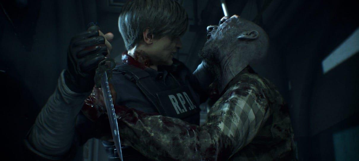 Resident Evil 2 é o jogo de 2019 mais bem avaliado do Metacritic