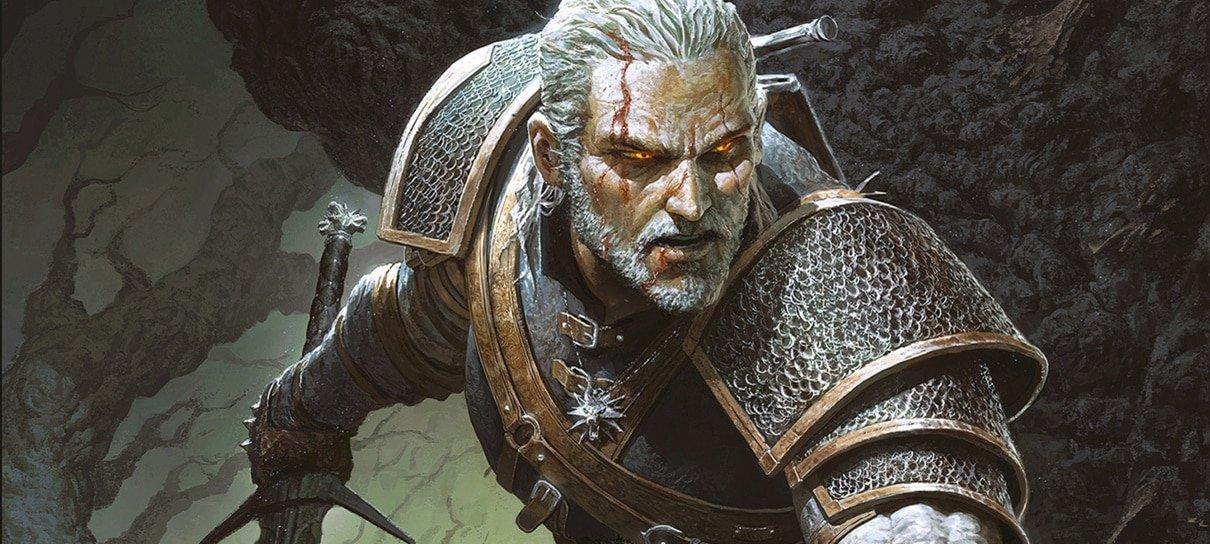 RPG de mesa baseado em The Witcher será lançado em janeiro no Brasil