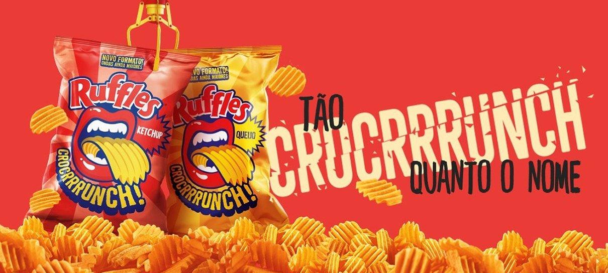 RUFFLES® Crocrrrunch sabor Ketchup está de volta!