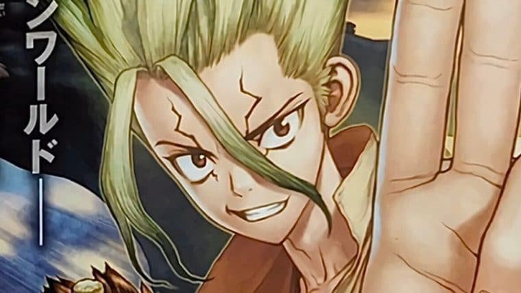 Segunda temporada do anime de Dr. Stone é anunciada