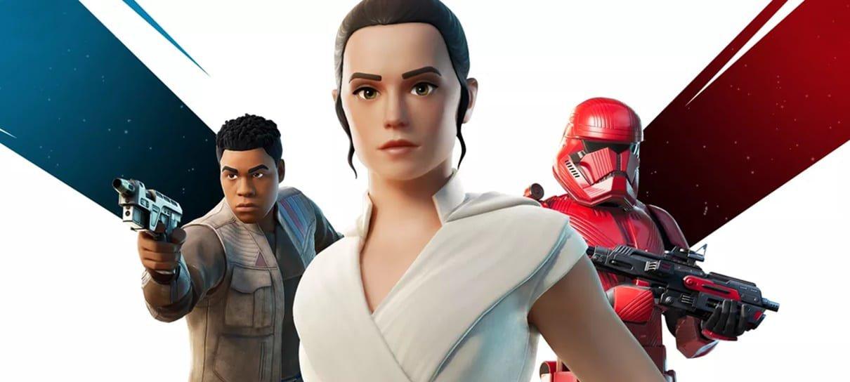 Star Wars: A Ascensão Skywalker ganhará um novo trailer dentro de Fortnite