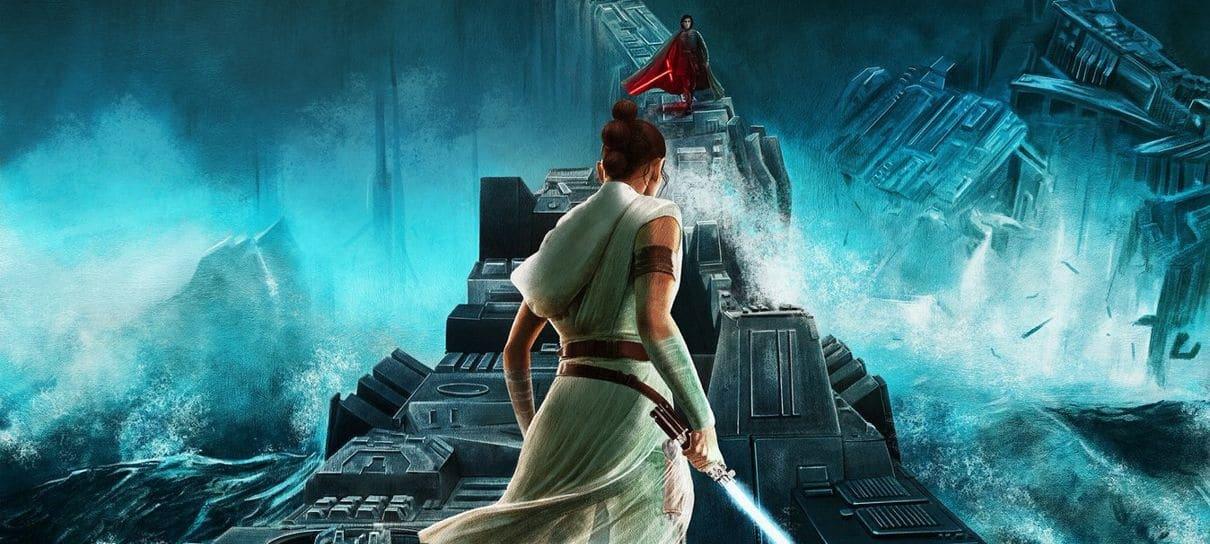 Star Wars: A Ascensão Skywalker   Confira os novos pôsteres
