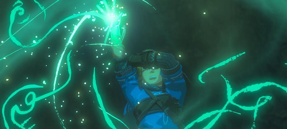 Fotos mostram bastidores do teaser de Zelda: Breath of the Wild 2
