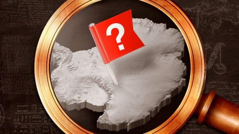Quem descobriu e de quem é a Antártida?