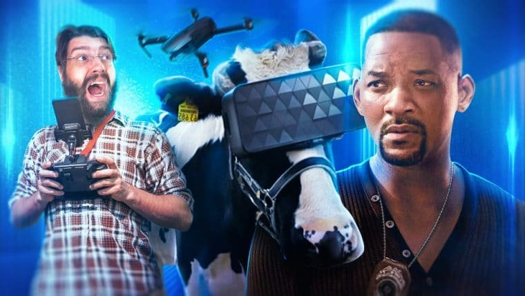 Entrevista com Will Smith (Bad Boys Para Sempre) e Novas Tecnologias!