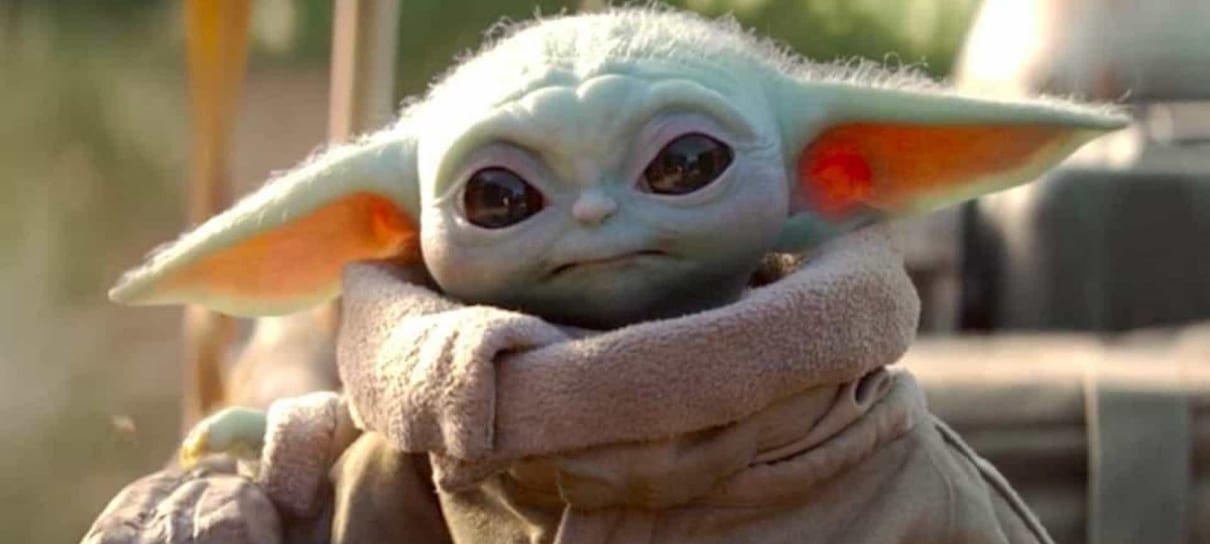George Lucas conheceu o Baby Yoda e a cena é muito fofa