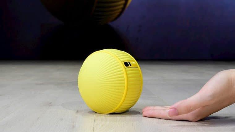 Samsung apresenta robô-bolinha que lembra o BB-8