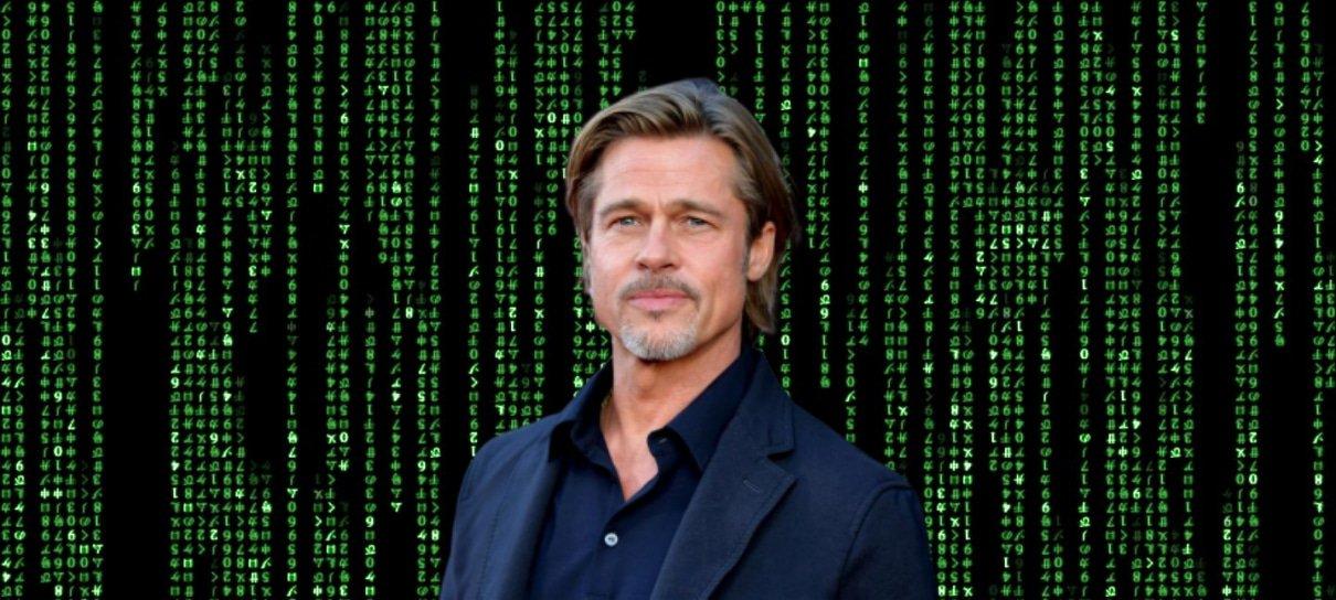 Brad Pitt recusou papel em Matrix