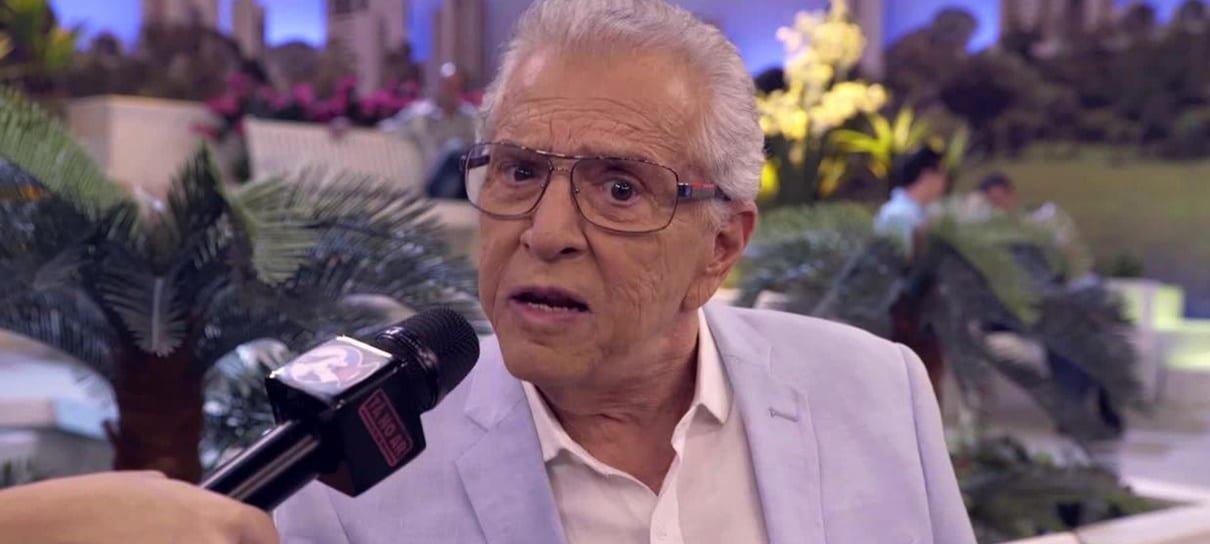 Carlos Alberto de Nóbrega é internado por conta de uma infecção na próstata