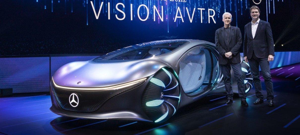 Mercedes-Benz revela carro conceito inspirado em Avatar
