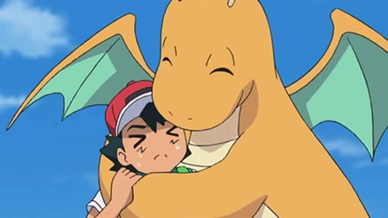 Depois de 22 anos, Ash finalmente captura um Dragonite no anime de Pokémon