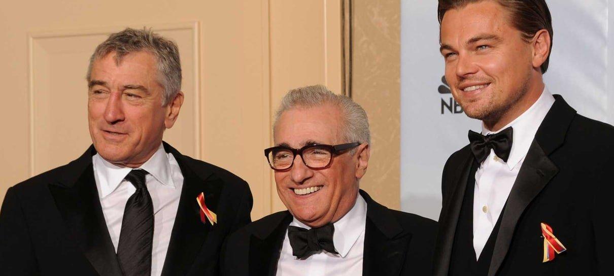 Leonardo DiCaprio e Robert De Niro vão estrelar próximo filme de Scorsese