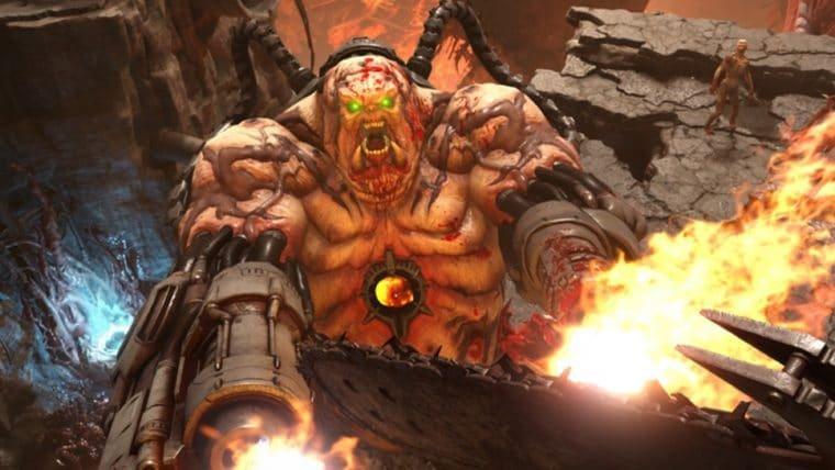 Dificuldade de Doom Eternal foi inspirada em Mario Kart