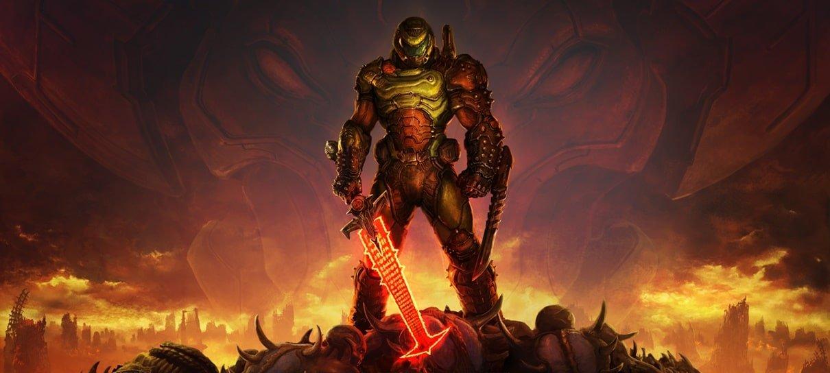 Jogamos as três primeiras horas de Doom Eternal e já queremos mais!