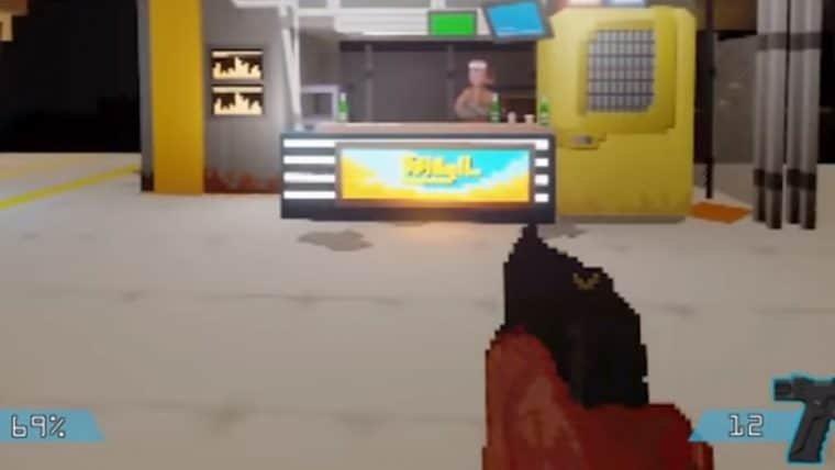 Fã imagina Cyberpunk 2077 como um jogo de PS1 em Dreams