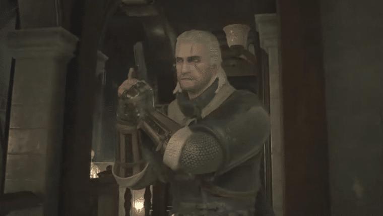 Mod coloca Geralt de Rivia em Resident Evil 2