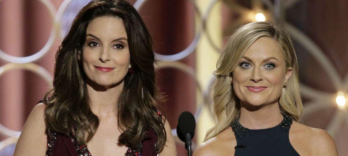 Globo de Ouro   Tina Fey e Amy Poehler serão apresentadoras novamente em 2021