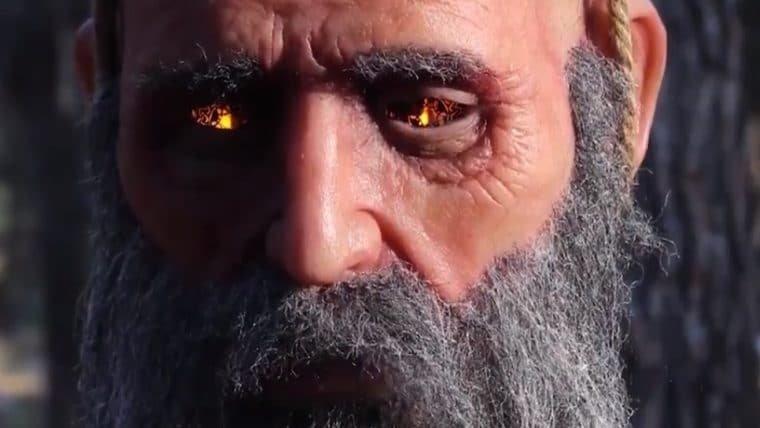 God of War   Empresa cria réplica em tamanho real da cabeça do Mimir