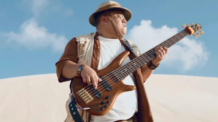 Júnior Bass Grovador entra no universo de Jumanji: Próxima Fase em vídeo promocional