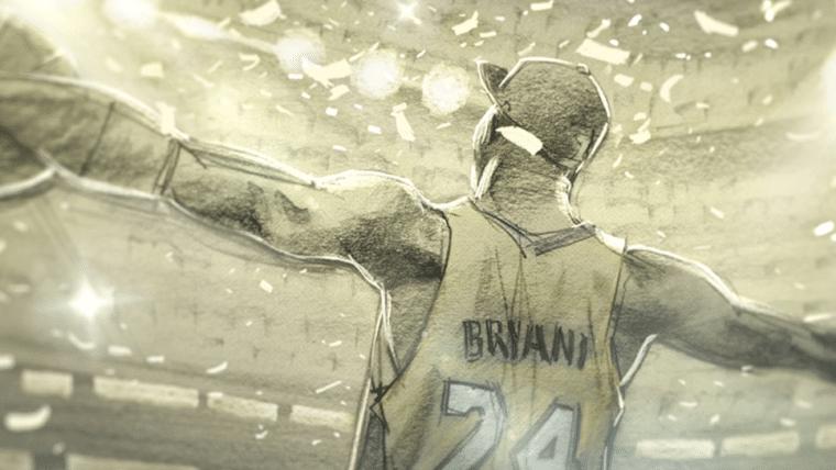 Dear Basketball, curta de Kobe Bryant vencedor do Oscar, é removido da internet