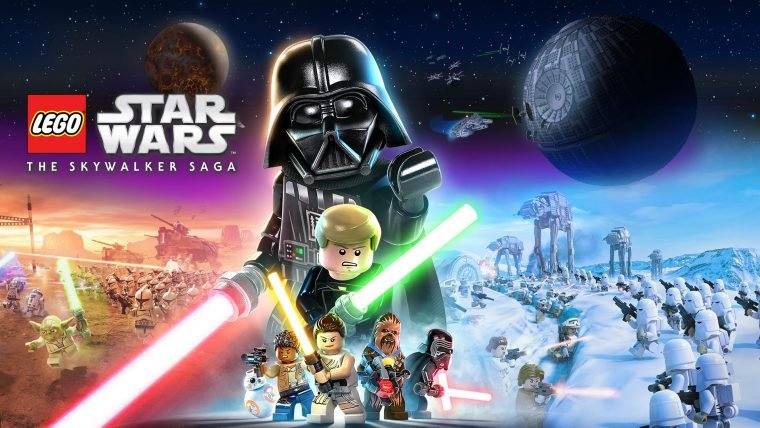 Arte de Lego Star Wars: The Skywalker Saga (Divulgação/LucasFilm Games)