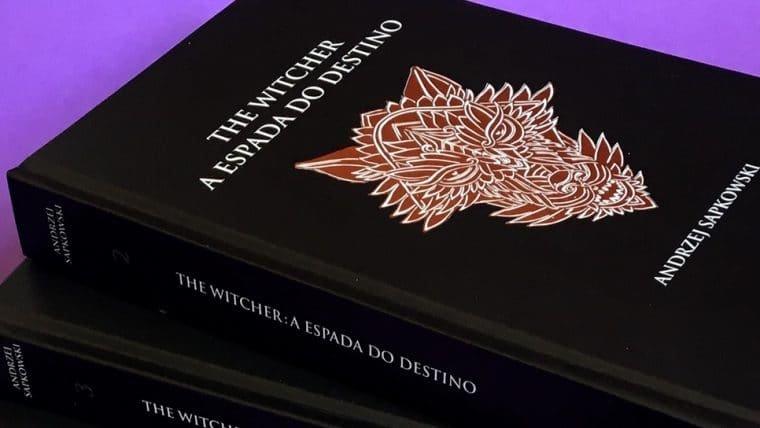 Livros de The Witcher são relançados com capa dura no Brasil