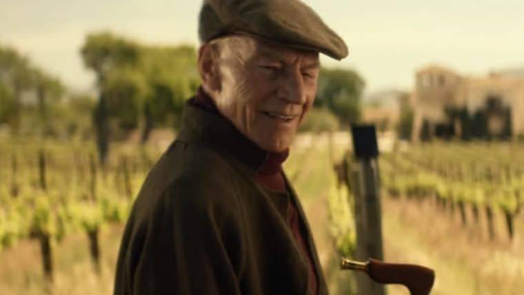 Picard passeia em vinhedos em novo trecho de Star Trek: Picard