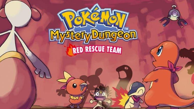 Pokémon Mystery Dungeon Rescue Team DX é anunciado para Nintendo Switch