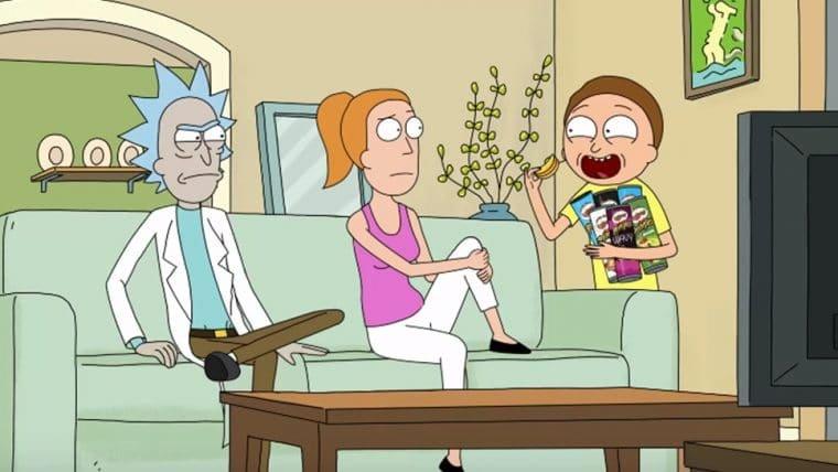 Rick and Morty | Personagens ficam presos em comercial de salgadinho