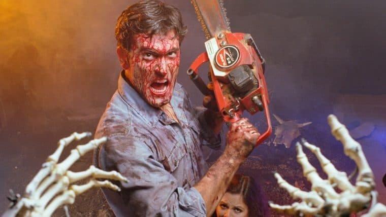 Sam Raimi quer fazer mais um filme de Evil Dead com Bruce Campbell