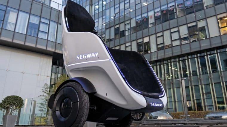 Novo projeto da Segway parece ter saído de Wall-E