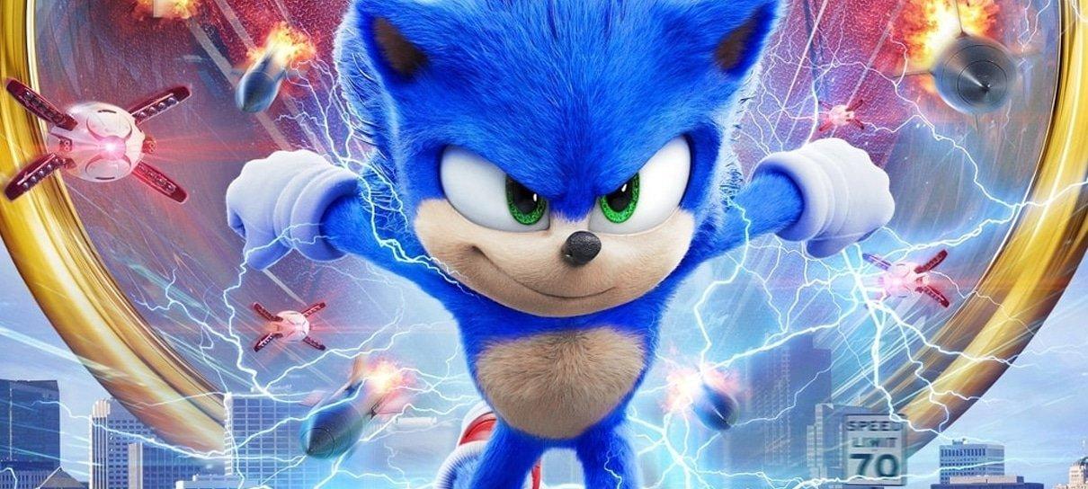 Sonic: O Filme | Novo pôster espanhol mostra o ouriço de perto