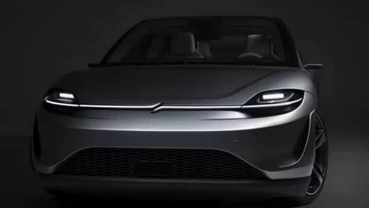 Sony apresenta Vision-S, protótipo de carro elétrico