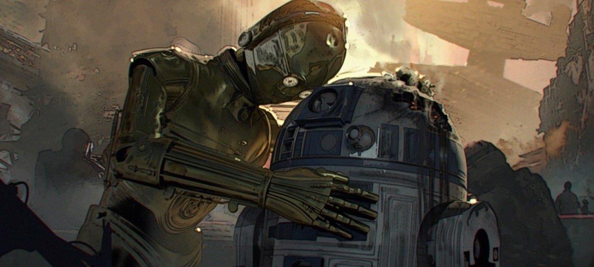 Star Wars | Artes conceituais do roteiro original do Episódio IX são vazadas