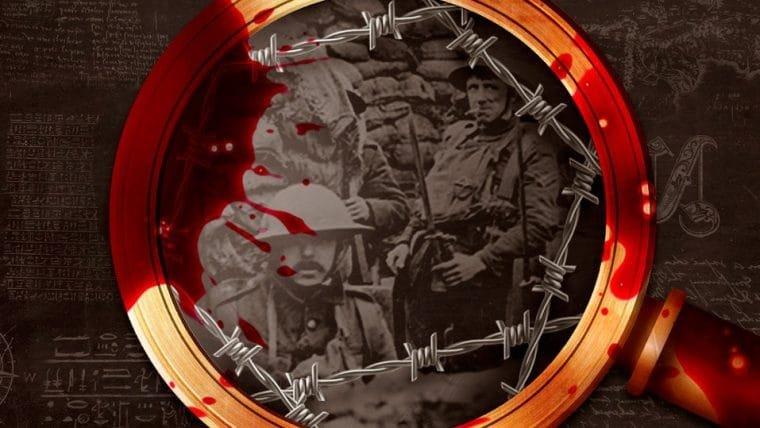 As trincheiras da Primeira Guerra Mundial