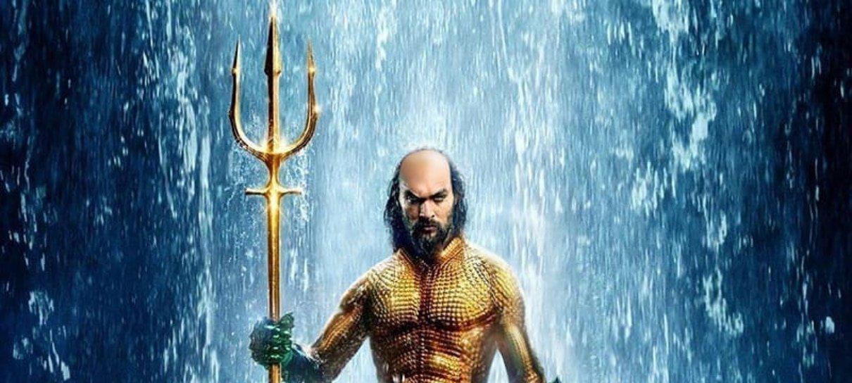 Aquaman de Jason Momoa aparece diferente em arte do Bosslogic