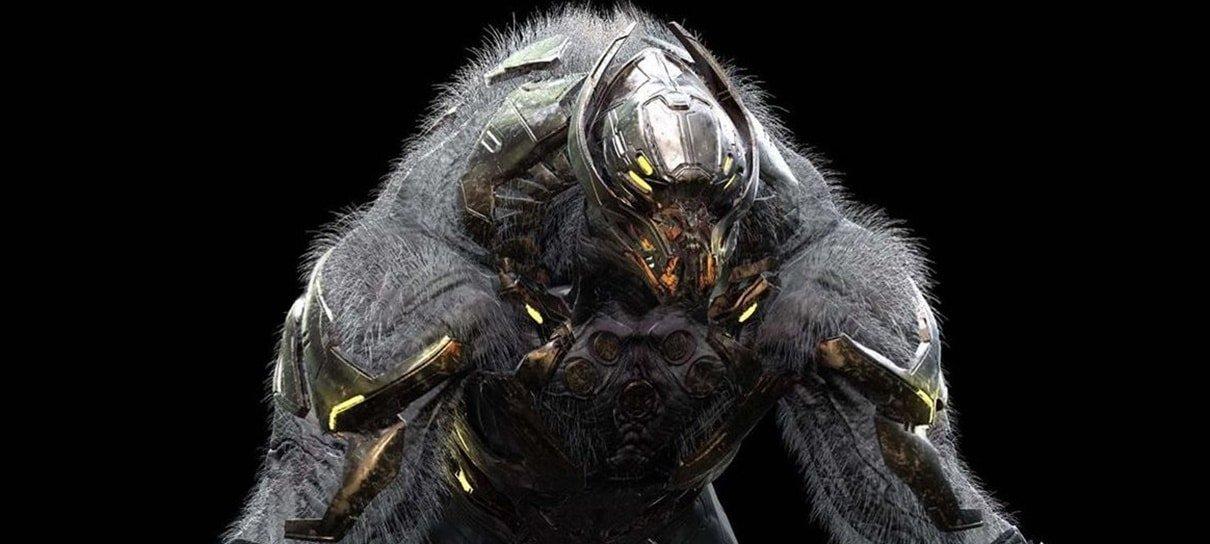 Arte conceitual de Vingadores: Ultimato revela o rosto do gorila alienígena