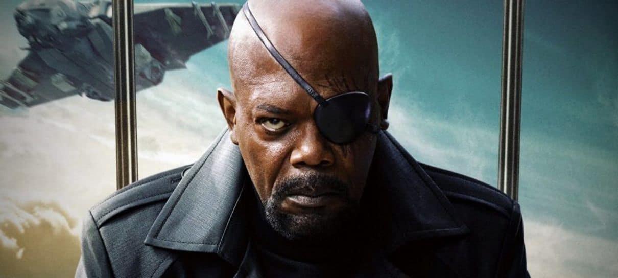 Arte conceitual mostra como seria a morte de Nick Fury em Vingadores: Ultimato