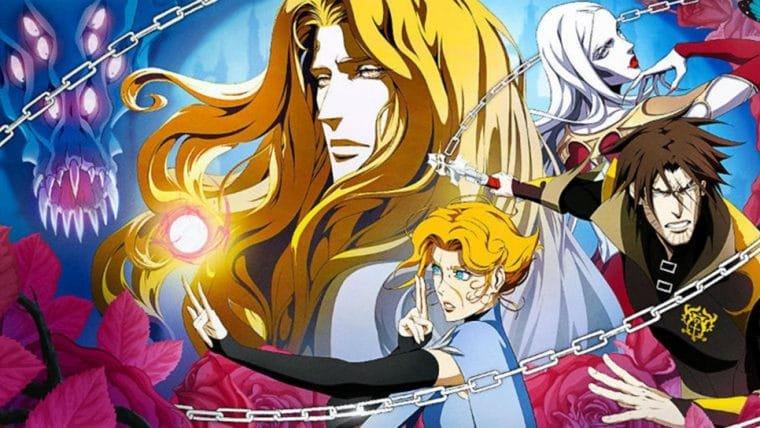 Castlevania   Série animada ganha cartaz que homenageia os jogos da franquia